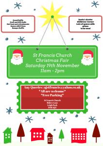 St Francis Christmas Fair 2016