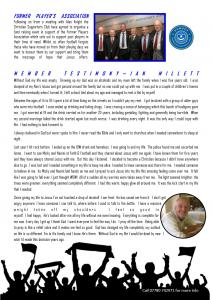 Newsletter - Pt 2
